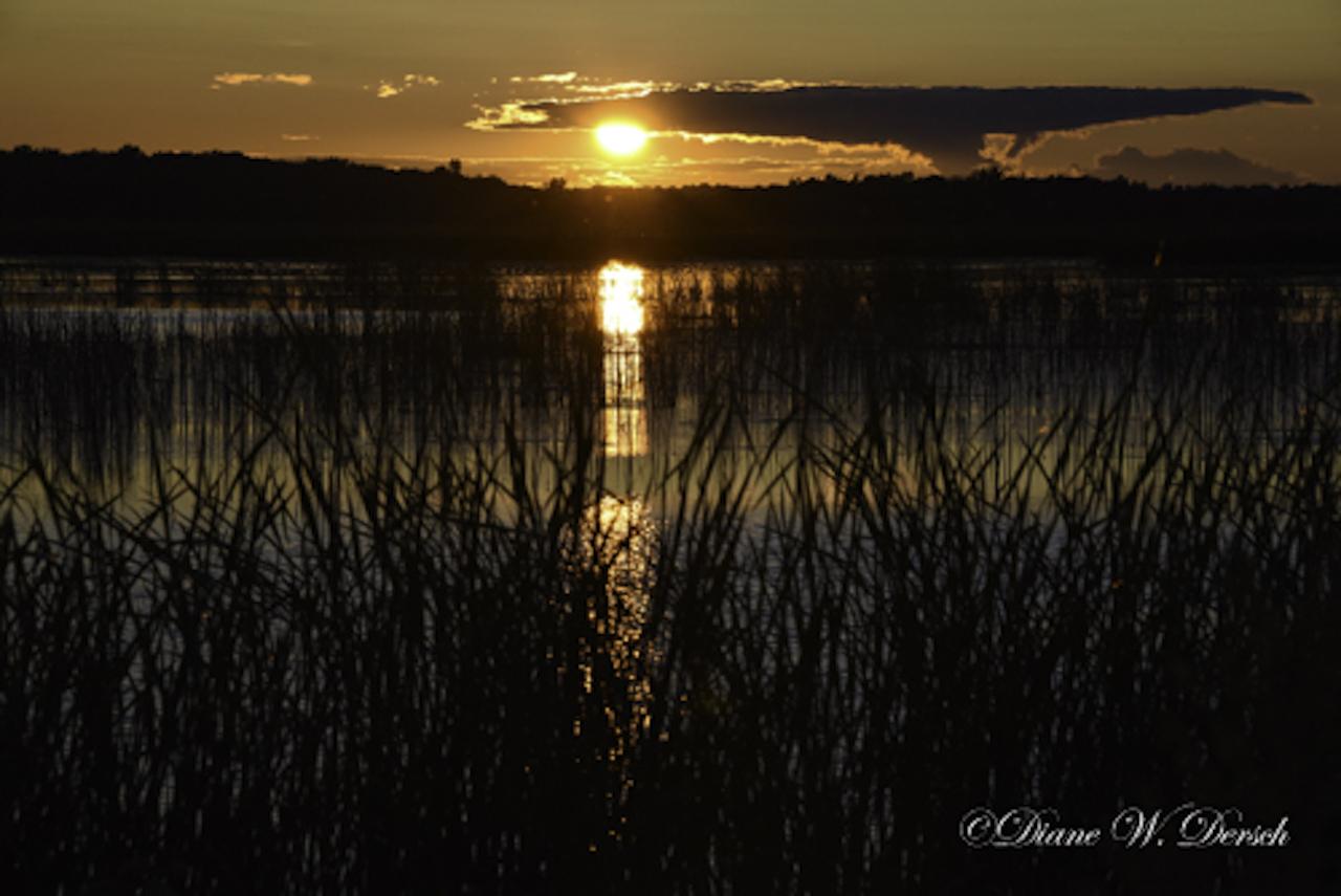 Sunset over Montezuma (photo)