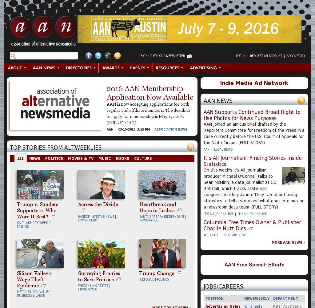 Association of Alternative Newsmedia