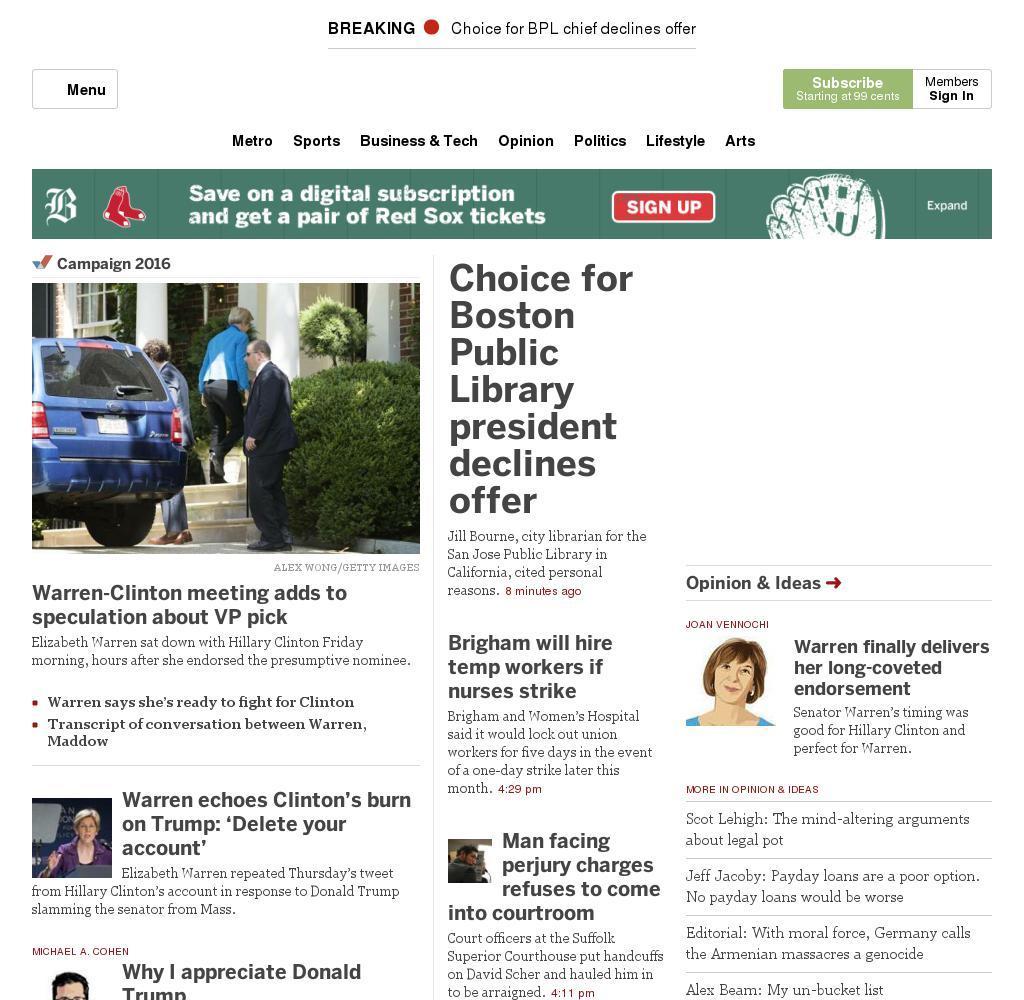 The Boston Globe