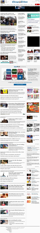 Chicago Tribune at Wednesday Dec. 5, 2012, 7:04 a.m. UTC