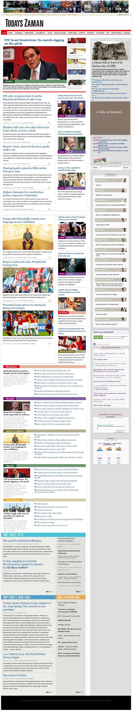 Zaman Online at Monday April 30, 2012, 10:13 a.m. UTC